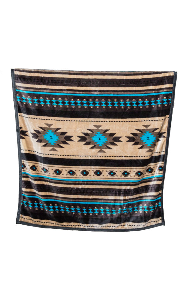 New Morning Native Design Reversible Blanket Reverse