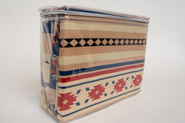 New Morning Native Design Sheet Set Full Blue Beige