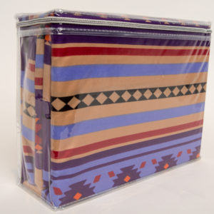 New Morning Native Design Sheet Set Full Purple