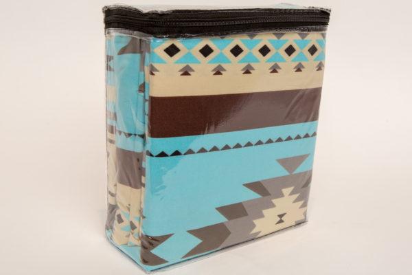 New Morning Native Design Sheet Set Full Turquoise