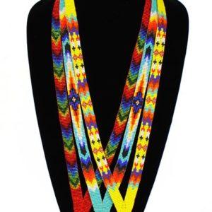 Tulsa Uninque Gifts Beaded Lanyard NE159 001 2T