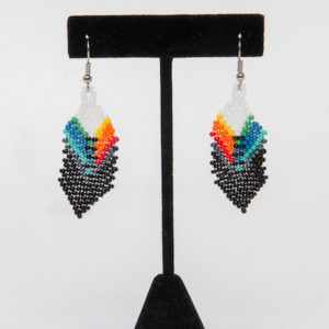 Tulsa Unique Gifts Classic Feather Earrings 1