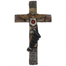 Tulsa Unique Gifts Police Wall Cross RA9222