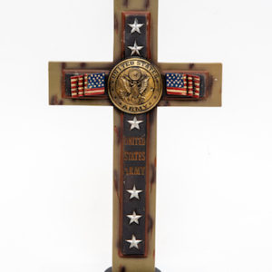 Tulsa Unique Gifts Standing Army Cross 73