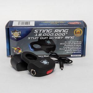 Tulsa Unique Gifts Stun Gun W Ring Blk